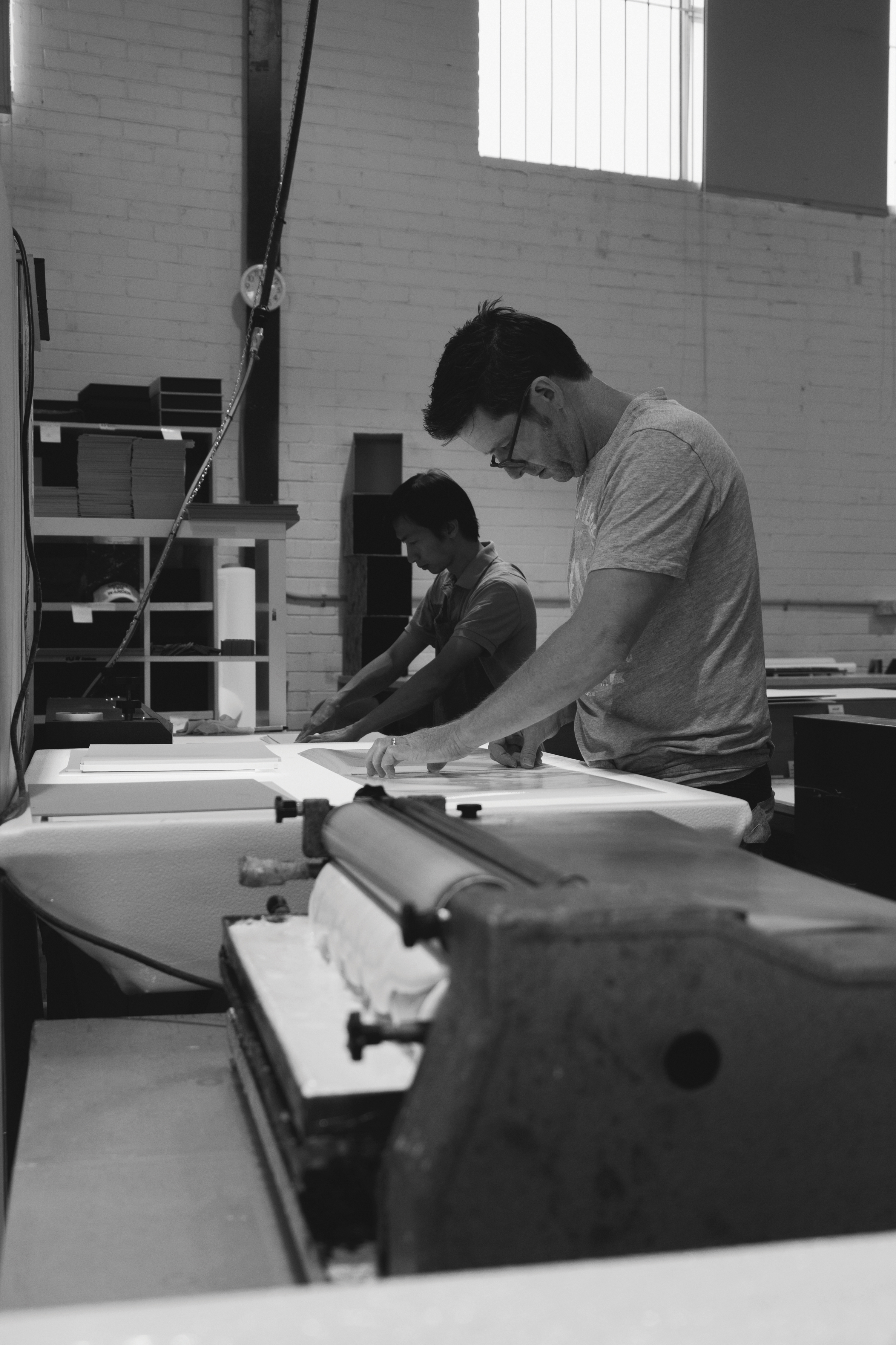 Meet our bookbinder Marty: 20 yearsstrong