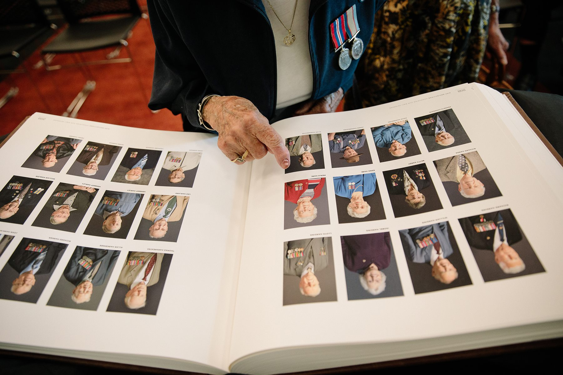 A gift to the nation: Archival books honouring WW2 veterans
